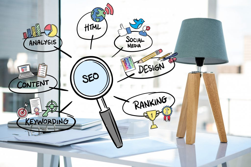 in this figure we explain about seo